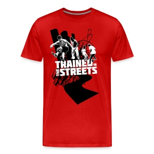 Trained in the Streets - Men's Premium T-Shirt