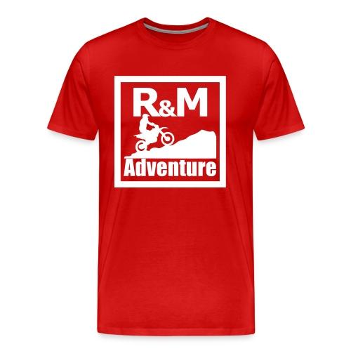 R M Adventure - Männer Premium T-Shirt