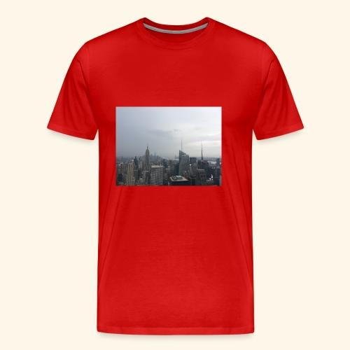 New York City view - Männer Premium T-Shirt