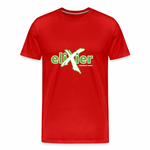eliXier Logo - Männer Premium T-Shirt