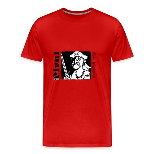 Kap Arkona Pirat - Männer Premium T-Shirt