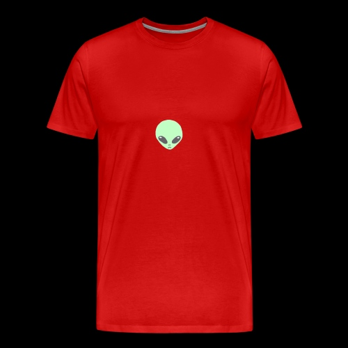 Alien-pet - Mannen Premium T-shirt