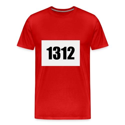 1312 - Premium-T-shirt herr