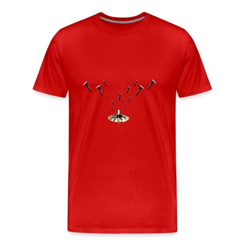 Nail Rain - Maglietta Premium da uomo