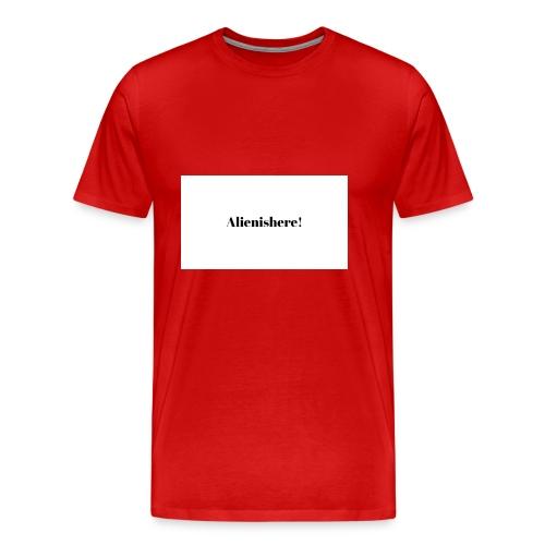 Alienishere - Men's Premium T-Shirt
