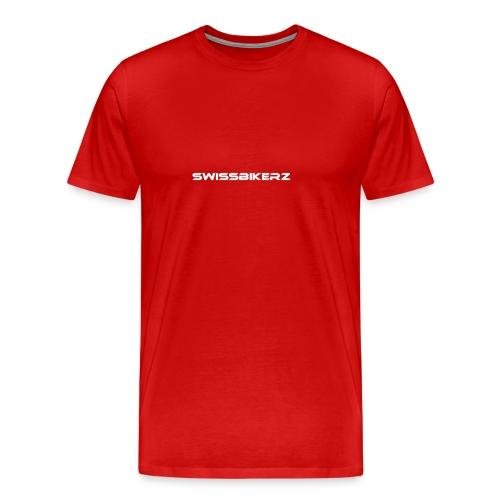 SwissBikerz probe hoddie - Männer Premium T-Shirt