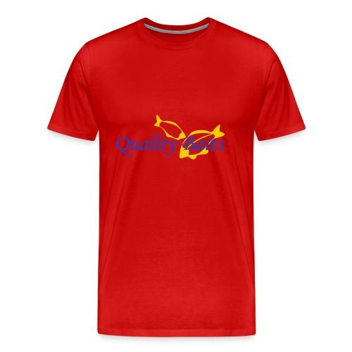 Quality Baits Logo - Men's Premium T-Shirt