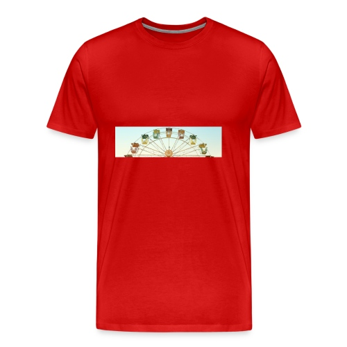 header_image_cream - Men's Premium T-Shirt
