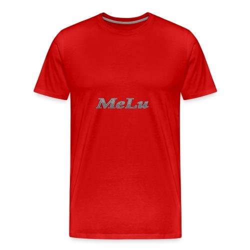 MeLu_Text - Mannen Premium T-shirt