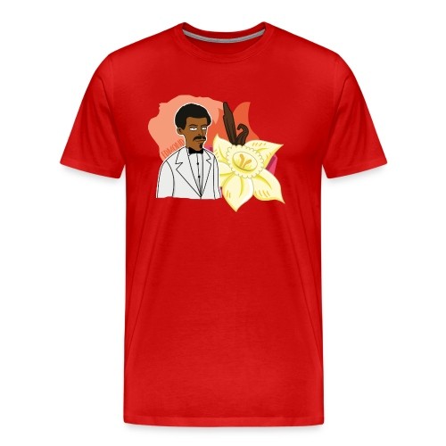 Monsieur Vanille alias Edmond Albius - T-shirt Premium Homme