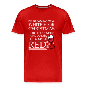 White Christmas - Men's Premium T-Shirt