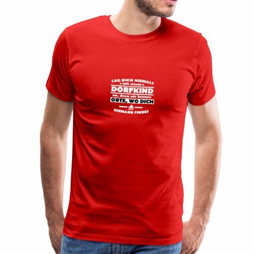 Dorfkinder - Männer Premium T-Shirt