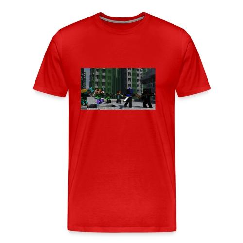 Minecraft Kopp - Premium T-skjorte for menn