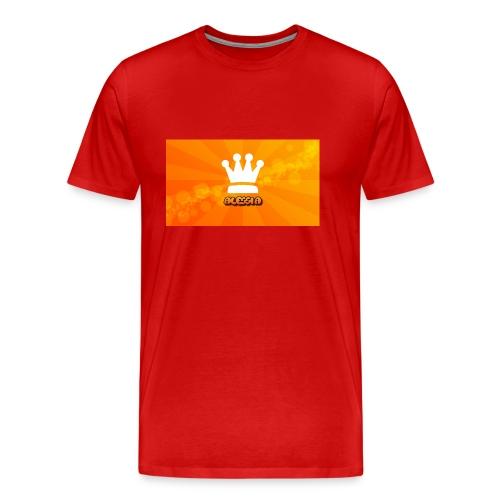 Orange_Crown_HD_Wallpaper_by_Ringquelle - Mannen Premium T-shirt