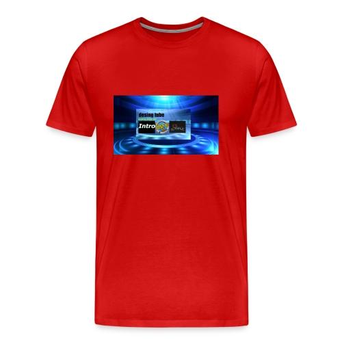 full banner t-shirt - Mannen Premium T-shirt