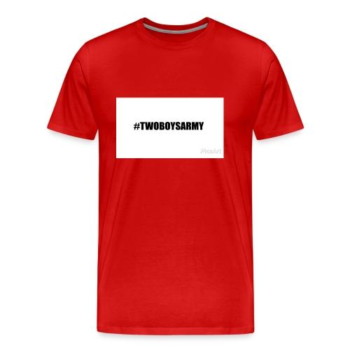 New TWOBOYSARMY - Männer Premium T-Shirt