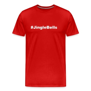 jingle bells white - Men's Premium T-Shirt