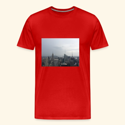 New York City view - Männer Premium T-Shirt