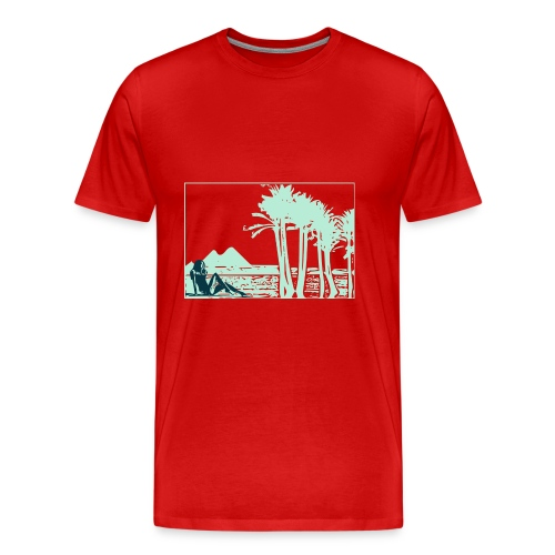 Girl nil - T-shirt Premium Homme
