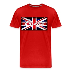 Kunce UK Union Jack Grunge - Men's Premium T-Shirt