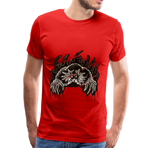 Star Nosed Mole - Miesten premium t-paita