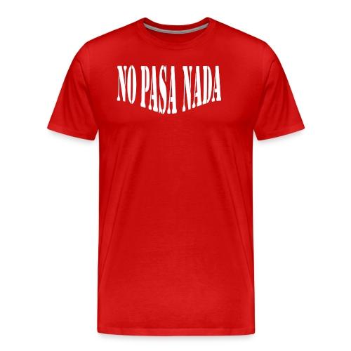 scritta per maglione png BIANCO - Maglietta Premium da uomo