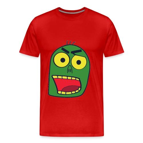 zombiekopf - Männer Premium T-Shirt
