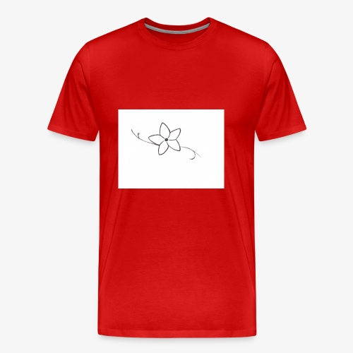 Fleur - T-shirt Premium Homme