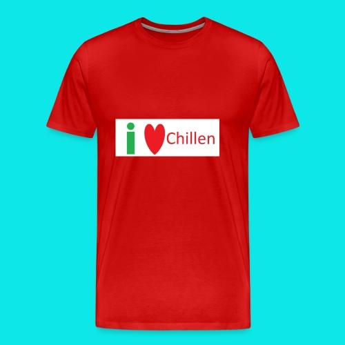 Ich Liebe Chillen - Männer Premium T-Shirt