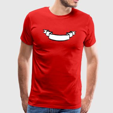 banner böjd - Premium-T-shirt herr
