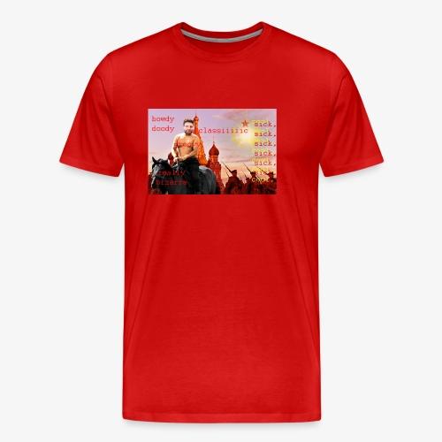 putin howdy - Men's Premium T-Shirt