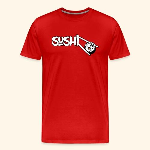 sushistäbchen 3d - Männer Premium T-Shirt