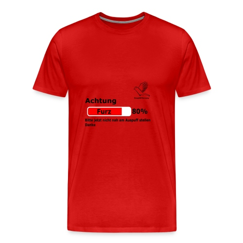Dompfaff Furz Lädt - Männer Premium T-Shirt
