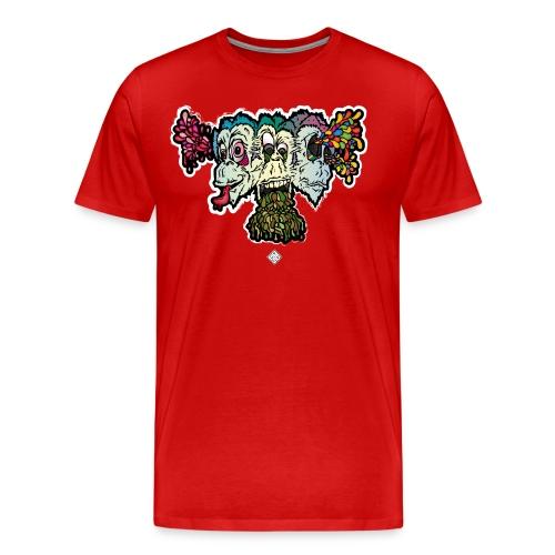 Singe de La Sagesse - T-shirt Premium Homme