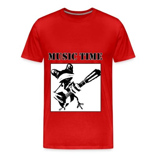 Music time - Männer Premium T-Shirt