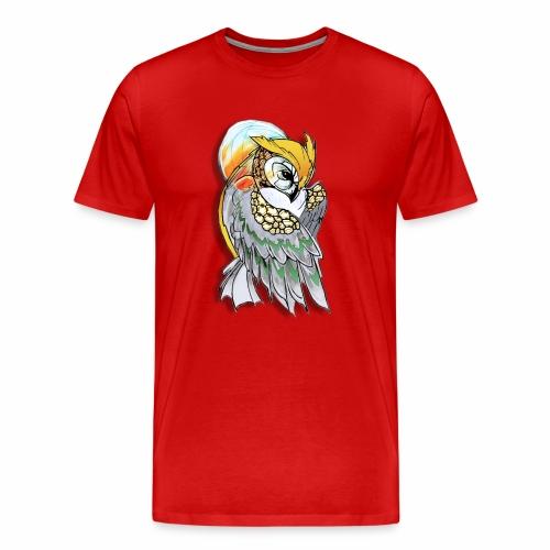 Cosmic owl - Camiseta premium hombre