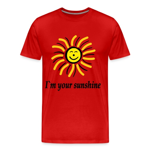 2i m youre sunshine Gelb Top - Männer Premium T-Shirt