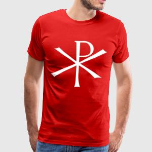 Christ Monogram - Men's Premium T-Shirt