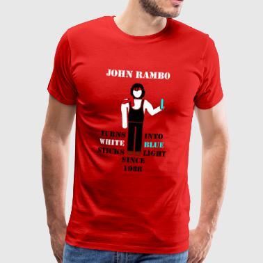 John Rambo 1988 - Männer Premium T-Shirt