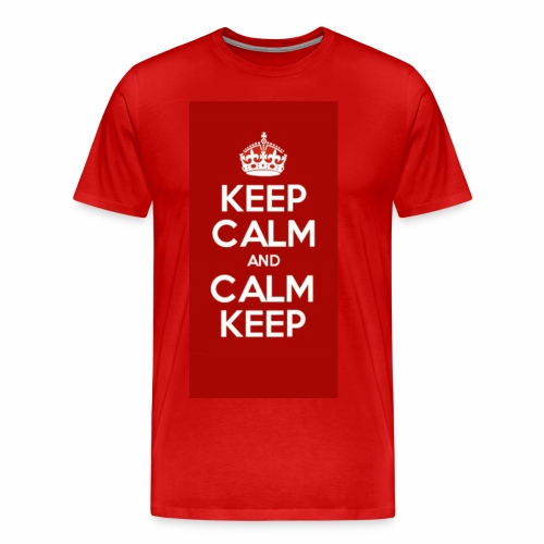 Keep Calm Original Shirt - Men's Premium T-Shirt