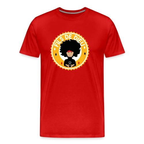 Fils de Dieu jaune - T-shirt Premium Homme