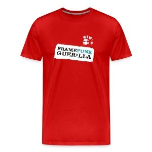 whitelogo - Männer Premium T-Shirt