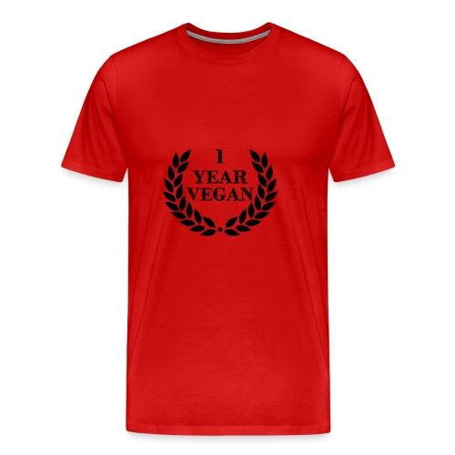 1_year - Men's Premium T-Shirt