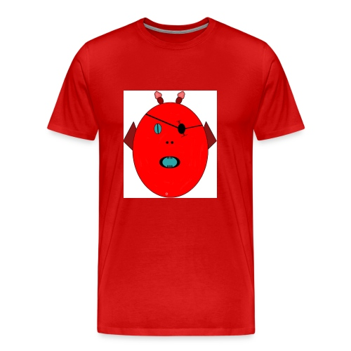 The red monster - Premium-T-shirt herr