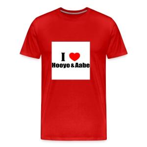 hooyo aabe1 - Mannen Premium T-shirt