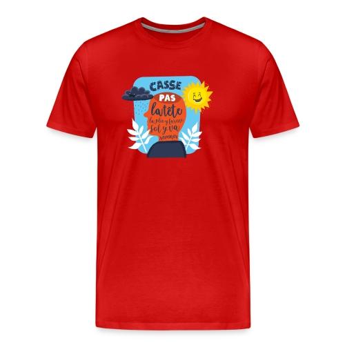 Casse pas la tête... - T-shirt Premium Homme