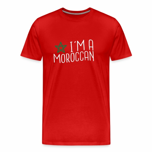 I'm A Moroccan - T-shirt Premium Homme