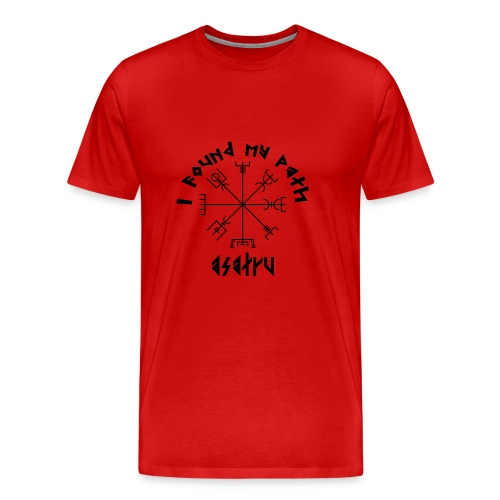 I found my path - Asatru - Men's Premium T-Shirt