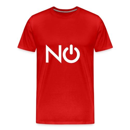 NerdOff™ Blanco - Camiseta premium hombre