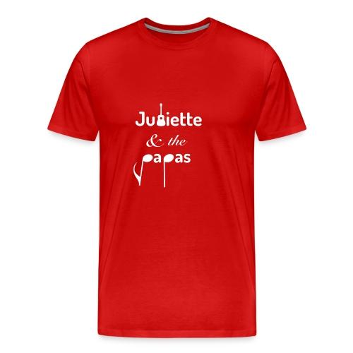 LOGO JATP BLANC - T-shirt Premium Homme